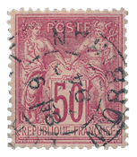 France 1876 - YT 98 - Cancelled