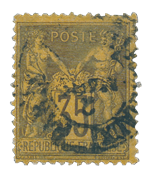 France 1876 - YT 93 - Cancelled
