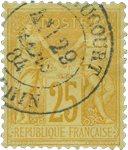 France 1876 - YT 92 - Oblitéré