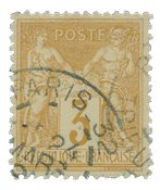 France 1876 - YT 86 - Oblitéré