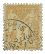 France 1876 - YT 86 - Cancelled