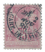 France 1876 - YT 81 - Cancelled - Unused