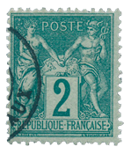 France 1876 - YT 74 - Cancelled