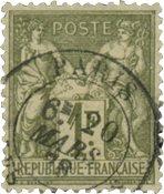 France 1876 - YT 72 - Oblitéré