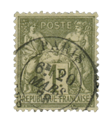 France 1876 - YT 72 - Cancelled