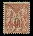 France 1876 - YT 70 - Oblitéré