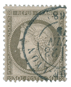France 1871 - YT 56 - Cancelled