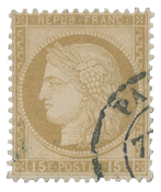 France 1871 - YT 55 - Cancelled