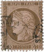 France 1871 - YT 54 - Oblitéré