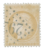 France 1871 - YT 59 - Cancelled