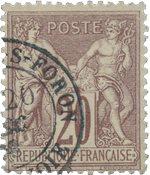 France 1876 - YT 67 - Oblitéré