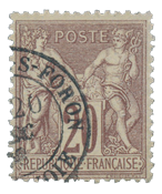France 1876 - YT 67 - Cancelled
