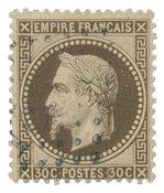 France 1863 - YT 30b - Oblitéré