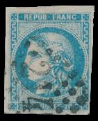 France 1870 - YT 46B - Oblitéré