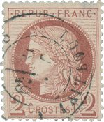 France 1871 - YT 51 - Oblitéré