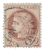 France 1871 - YT 51 - Cancelled