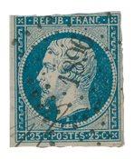 France 1853 - YT 15 - Oblitéré