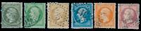 France 1862 - YT 19-24 - Oblitéré