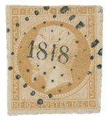 France 1853 - YT 13 - Oblitéré