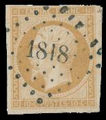 France 1853 - YT 13 - Cancelled