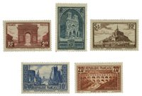 France 1929 - YT 258-62 - Neuf avec charnière