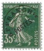 France - YT PO63 - Préoblitéré