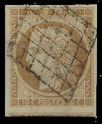 France 1850 - YT 1 - Oblitéré