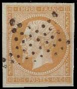 Frankrig - Stemplet Y&T 13A