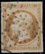 Frankrig - Stemplet Y&T 13B