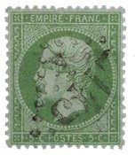 France 1862 - YT 20 - Oblitéré