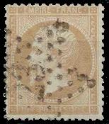 Frankrig - Stemplet Y&T 21