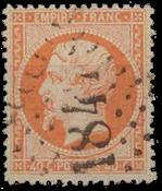 Frankrig - Stemplet Y&T 23