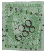 France 1870 - YT 42B - Oblitéré