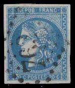 France - YT 45 - Oblitéré