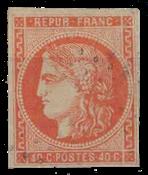 France 1870 - YT 48 - Oblitéré