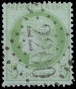 Frankrig - Stemplet Y&T 53