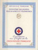 Frankrig - Røde Kors 1953 - YT 2002 - Postfrisk hæfte
