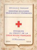 Frankrig - Røde Kors postfrisk 1954 Y&T 2003