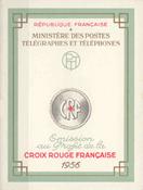 Frankrig - Røde Kors 1956 - YT 2005 - Postfrisk hæfte
