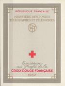 Frankrig - Røde Kors postfrisk 1957 Y&T 2006