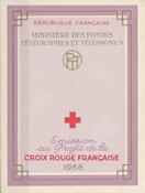 Frankrig - Røde Kors postfrisk 1958 Y&T 2007