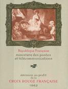 Frankrig - Røde Kors 1962 - YT 2011 - Postfrisk hæfte