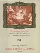 Frankrig - Røde Kors hæfte postfrisk 1962 2. udgave Y&T 2011a