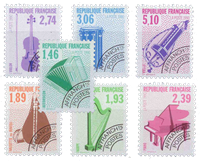 France - YT PO206-212 - Préoblitéré