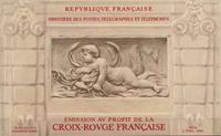 Frankrig - Røde Kors 1952 - YT 2001 - Postfrisk hæfte
