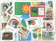 Iran - Duplicate lot with mint stamps
