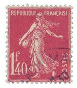Frankrig 1924 - YT 196 - Stemplet
