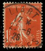 Frankrig 1924 - YT 195 - Stemplet
