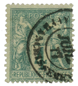 France 1876 - YT 63 - Cancelled
