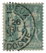 France 1876 - YT 62 - Cancelled